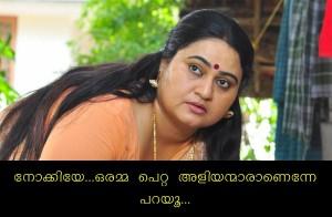 Oramma Petta Aliyanmaranenne Parayoo Malayalam Comment