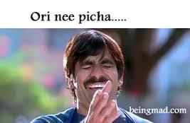 Ori Nee Picha... Comment Funny