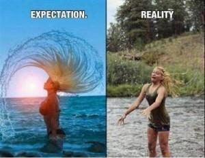 Expectation vs Reality Funny Pic