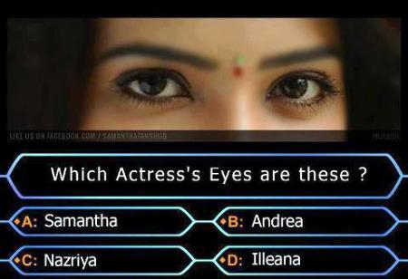 Guess The Actress?