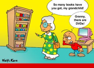 So Many Books Have You Got My Grandchild!