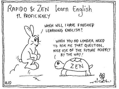 Rapido and Zen Learn English