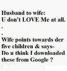 Husband To Wife Joke