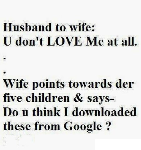 Husband To Wife Joke