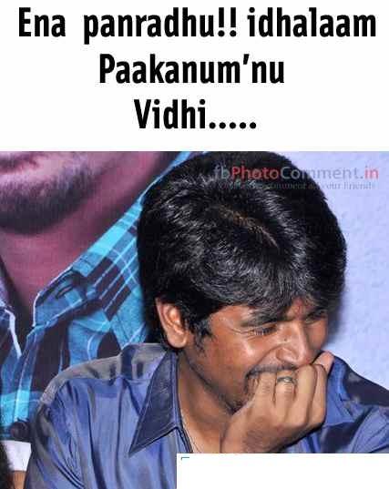 Ena Panradhu!! Idhalaam Paakanum'nu Vidhi....