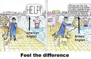 Feel The Difference American English and British English