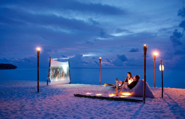 Outdoor Hotel Cinemas