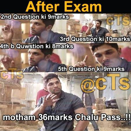 After Exam Funny