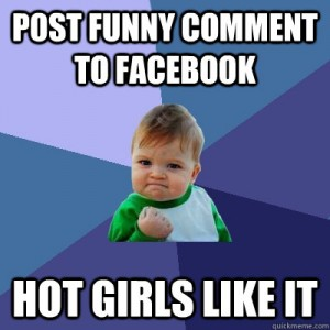 Post Funny Comment To Facebook