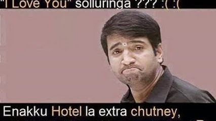 Santhanam Reaction Funny Comment