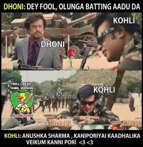Kohli Anushka Funny Tamil Picture Comment