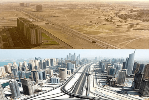 Amazing Cities Before And After