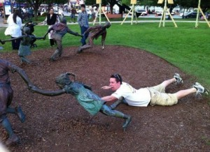 People Wanted To Have Fun With Statues
