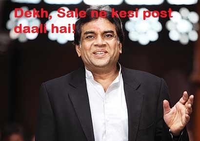 Dekh Saale Ne Kesi Post Daali Hai - Paresh Rawal
