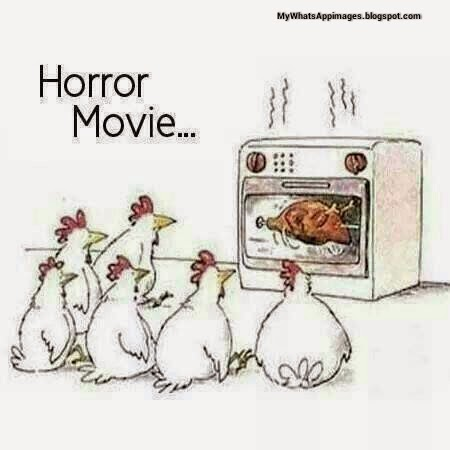 Horror Movie Funny Comment Image