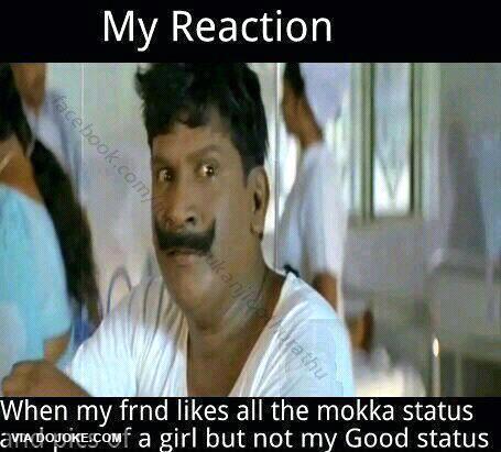 Tamil Joke Mokka Status