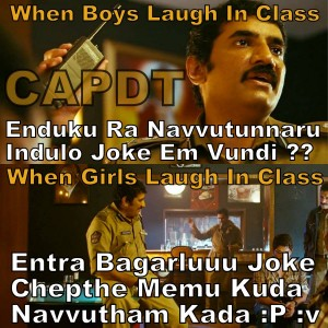 When Boys Laugh In Class