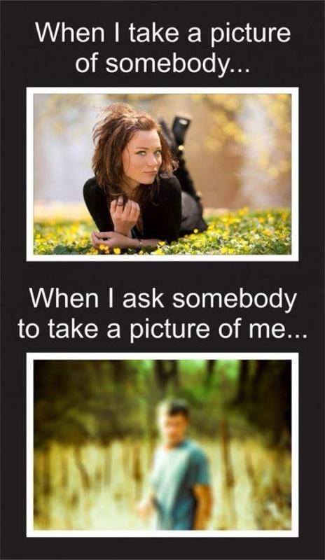 When I Take A Picture Of Somebody