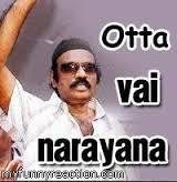 Otta Vai Narayana Tamil Comment Pic