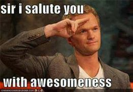 Sir I Salute You With Awesomeness Comment Pic
