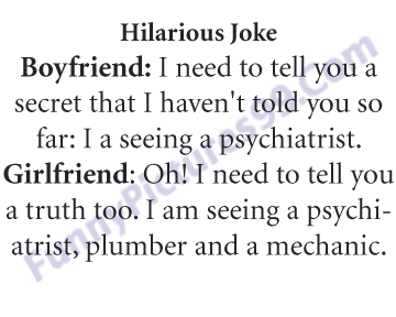 Boyfriend Girlfriend Hilarious Jokes