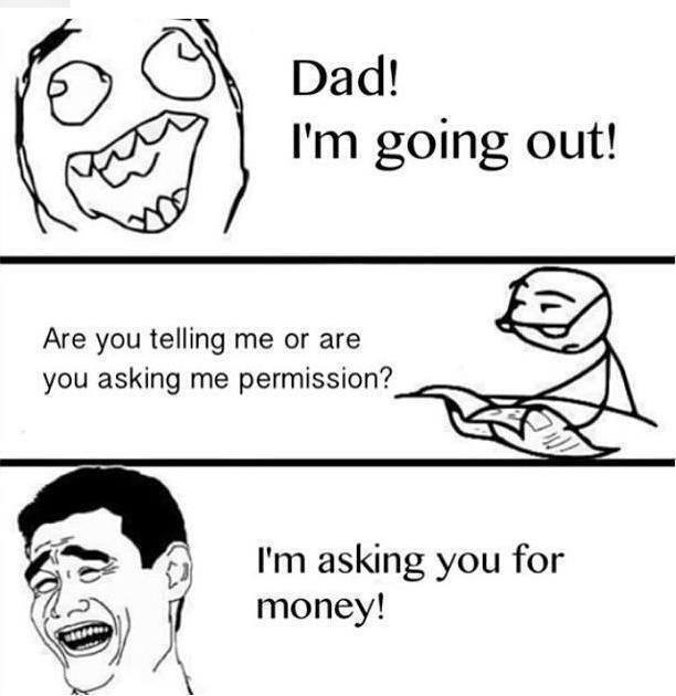 Dad Im Going Out Comedy Joke