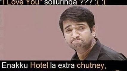 Santhanam Reaction Funny Comment