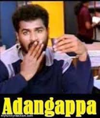 Adangappa - Prabhu Deva Comment Image