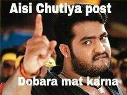 Aisi Chutiya Post Dobara Mat Karna
